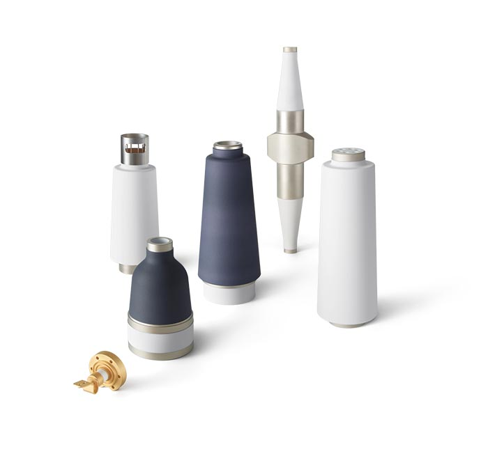 Metallized and brazed ceramic components
