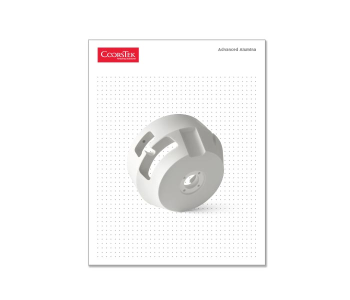 Advanced Alumina Material Brochure cover image.