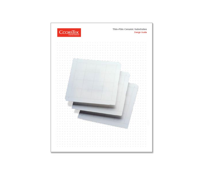 Thin Film Substrate Design Guide Brochure