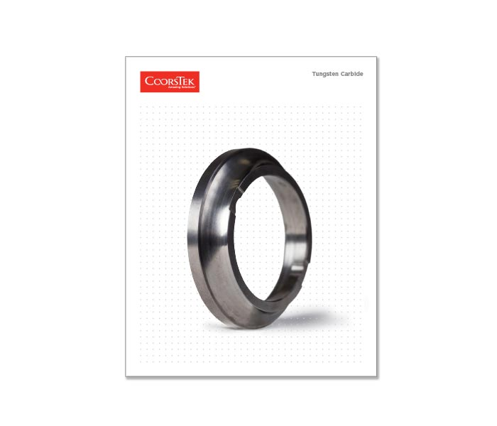 Tungsten Carbide brochure cover image.