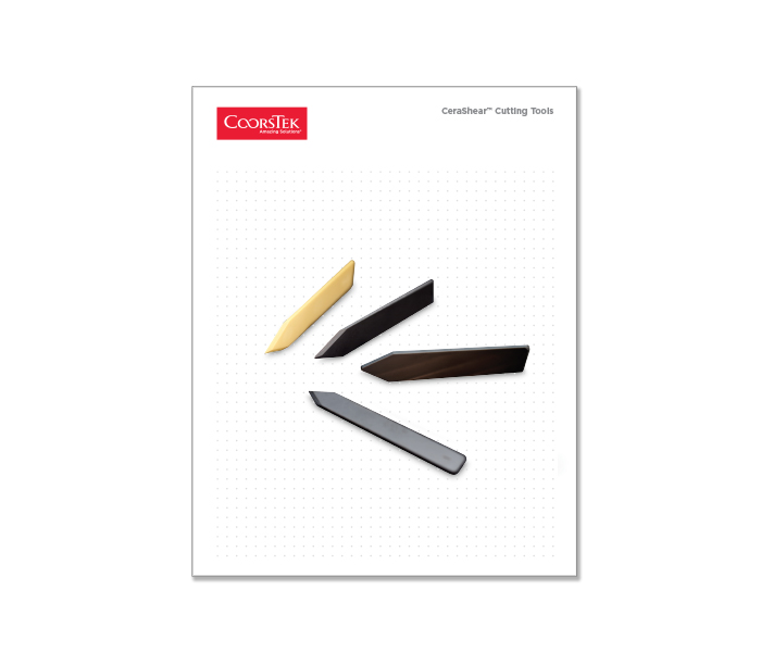 CeraShear Cutting Tools Brochure
