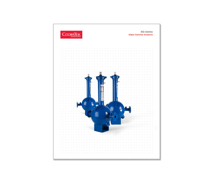 RD Series Water Hammer Arrestor Brochure