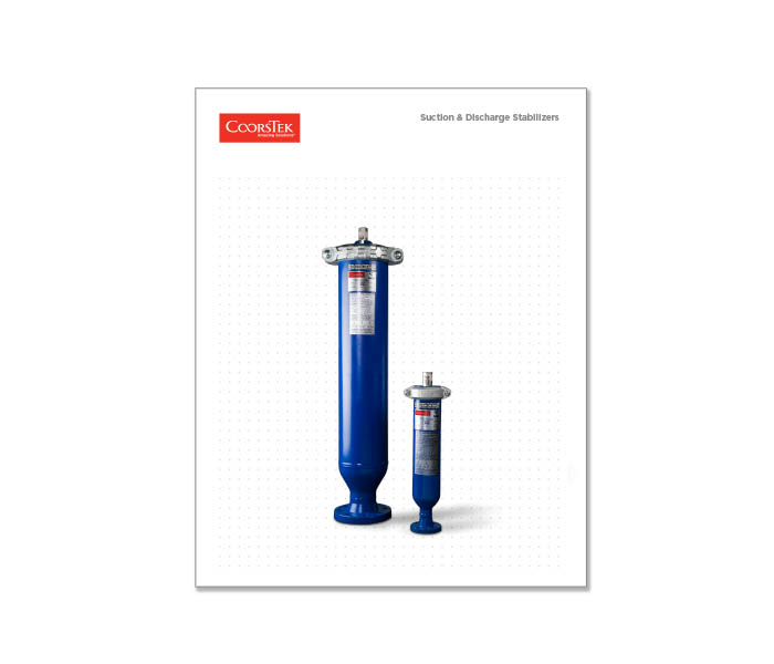 SurgeTek Suction & Discharge Stabilizer Brochure