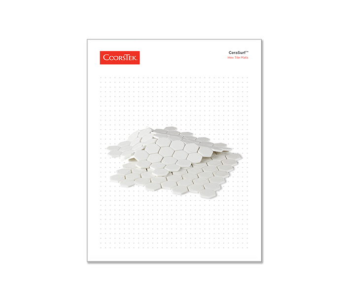 Hex Tile Mat Brochure