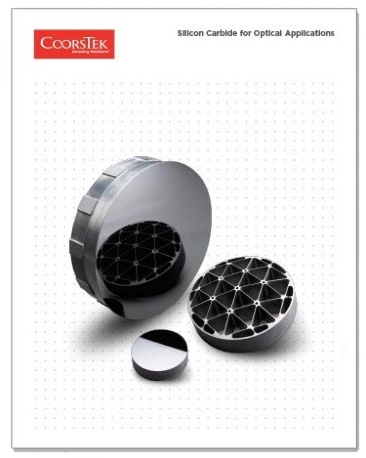 Silicon Carbide for Optical Applications Brochure Cover