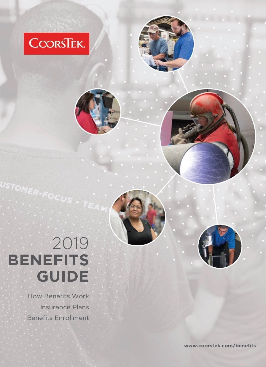 Cover image for the 2019 CoorsTek Benefits Guide