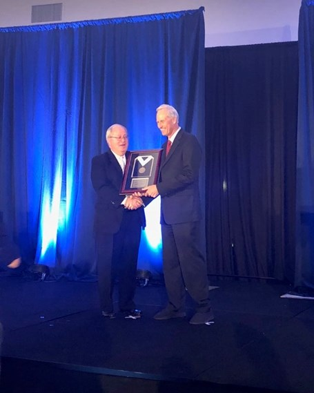Dr. John K. Coors Receives ACerS Medal for Leadership