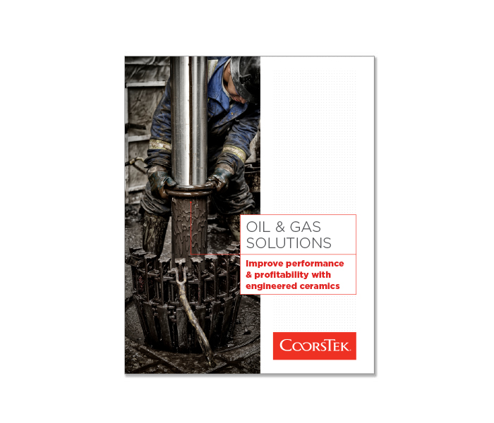 Oil & Gas Solutions brochure cover image