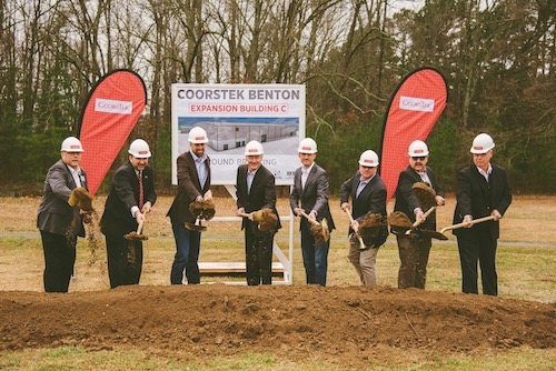 Groundbreaking Celebration for New Facility Expansion