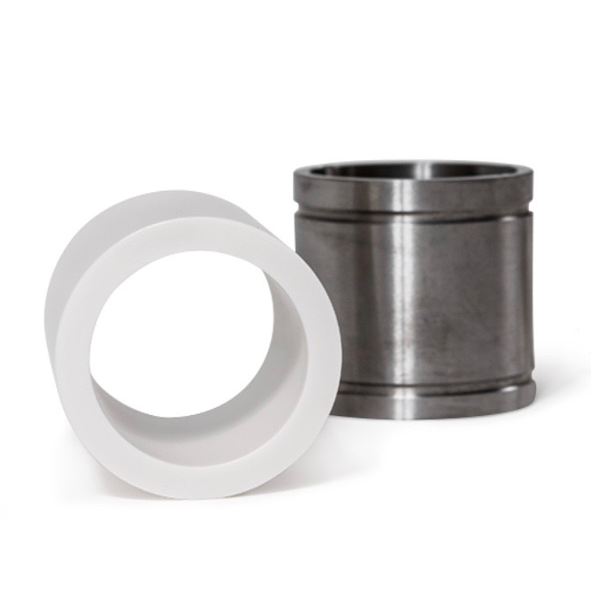 ESP bearings and bushings made with technical ceramics and superior for oil extraction applications.