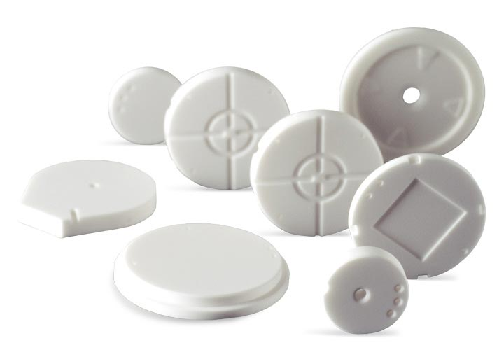 Electronic sensor components made with technical ceramics.