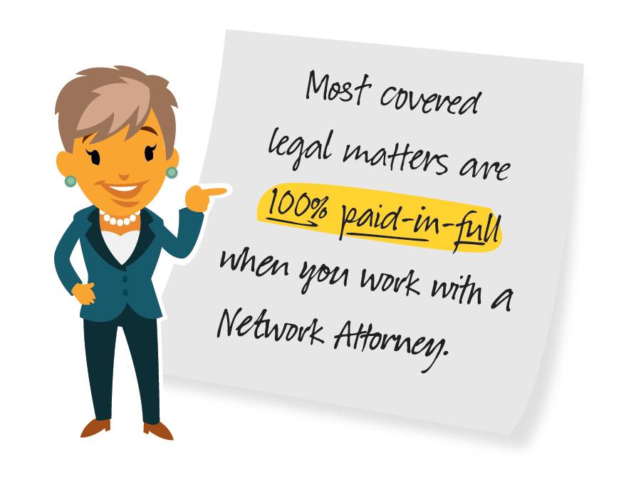 Legal Insurance Graphic