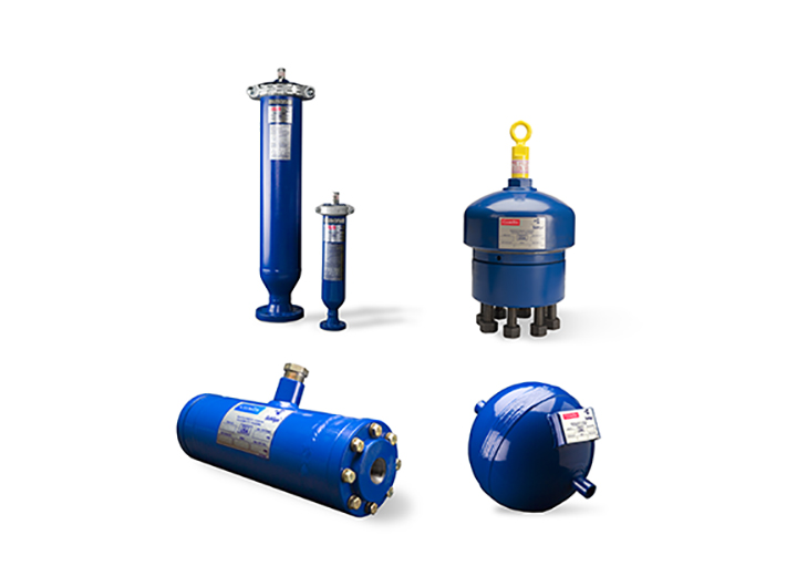 Family of pulsation equipment products.