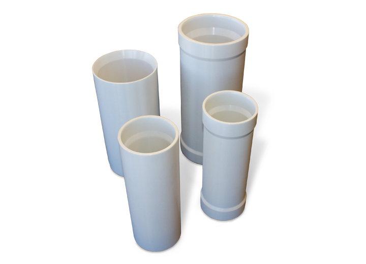 Alumina severe-duty sleeve for upstream oil and gas evaluation.