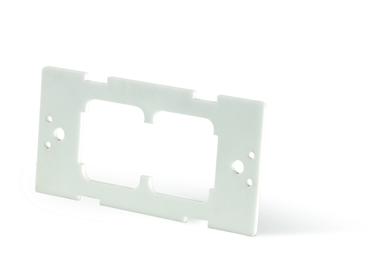Lasered substrate manufactured with the technical ceramic alumina.