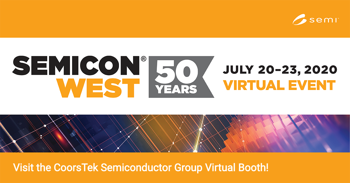 Semicon West 2020 Logo with CoorsTek Name