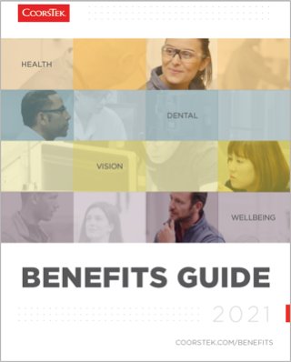 2021 Open Enrollment Benefits Guide Cover Image