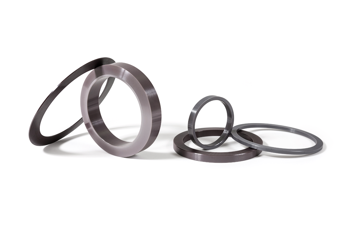 Sub gap washers made from technical ceramics for severe duty applications like oil and gas drilling.